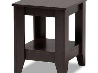 Baxton Studio Audra Wood End Table