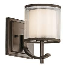 Strick   Bolton Pippin 1 light Mission Wall Sconces   Set of 2