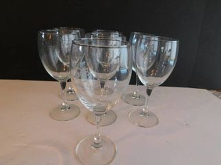 Wine Glass Set  7 ea