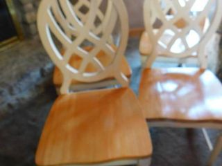 Wood Decorator Dining Chairs