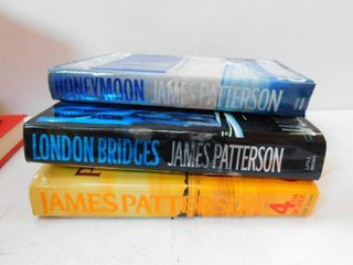 James Patterson Books  3 ea