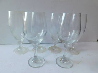 Glasses  set of 6