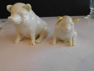 Irish Pigs   Fine China from Bellam Ireland