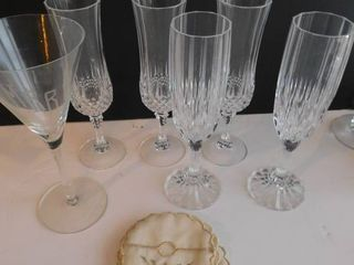 Champagne Martini Glasses  6 ea