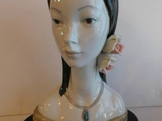 lladro   Maya  Retired Bust