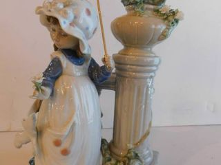 lladro   Glorious Spring  Retired Figurine