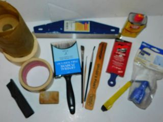 Misc  Tool lot   Paint Items