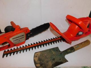 Misc  Tool lot   limb Chainsaw   Hedge Trimmer