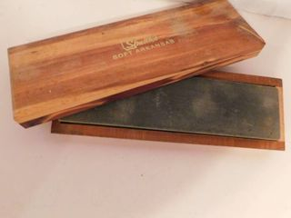 Supply lot   Sharpening Stone in Box