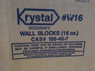 Krystal W16 Wall Blocks 16oz Case of 12