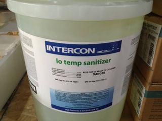 Intercon lo Temp Sanitizer 5 Gallon