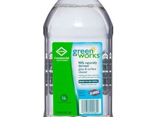 Green Works Glass   Surface Cleaner  64oz Refill