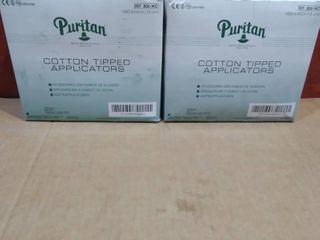 lot of 2   Puritan Cotton Tipped Applicators 1000ct