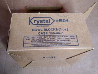 Krystal Bowl Blocks 4 oz Case of 12 B04