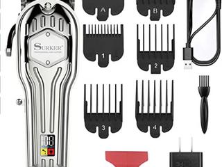 Surker Mens Hair Clippers Cord Cordless Hair Trimmer Professional Haircut