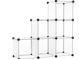 Songmics Plastic Cube Storage