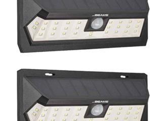 Me Beams Solar Max Wedge 30  lED Motion Sensor Wall light