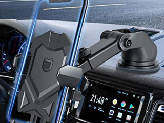 Manords   Black   Car Cell Phone Mount