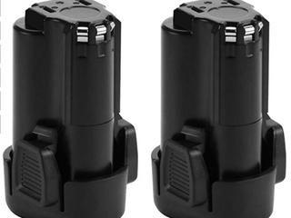 Shentec 2 Pack 12v Battery For Power Tools