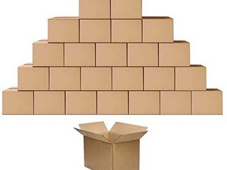 Shipping Cardboard Boxes Mailers 10x7x5 inches Small Packing Corrugated Packaging Moving Kraft Mailing Boxes Pack of 25
