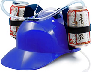 Novelty Place Party Play Fun Drinking Helmet