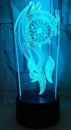 3D Wind Bell Night light