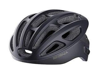 Sena R1 Ice Blue large Smart Cycling Bluetooth GPS Bike Helmet