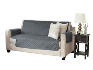 Great Bay Home Reversible Quilted Sofa Furniture Protector