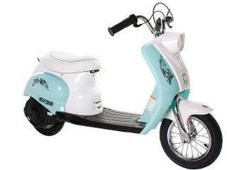 Surge Girls 24V City Scooter  White Teal for Girls by Dynacraft Retail 320 89