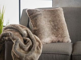 Toscana Furry Blanket by Christopher Knight Home