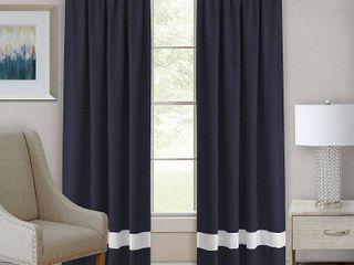 Darcy Rod Pocket Window Curtain Panel Pair