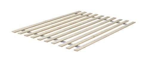 ONETAN 0 75 Inch Heavy Duty Vertical Wooden Full Bed Slats   Bunkie Board   Retail 116 99