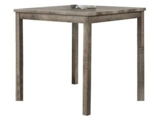 Best Master Furniture Square 36 x 36 Counter Height Rustic Table  Retail 188 99