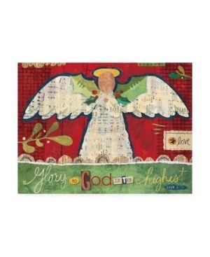 Holli Conger  Christmas Collage Canvas Art