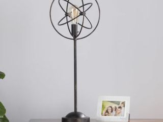 Carbon loft Rike Black Orb Table lamp  Retail 77 98