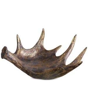 Uttermost Moose Antler Rustic Bowl  Retail 220 00