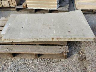 2  limestone Counter Tops