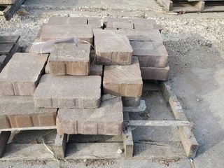 Red Brown Pavers