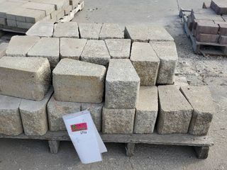 Grey Retaining Blocks