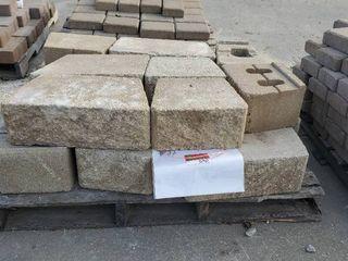 Brown Retaining Blocks
