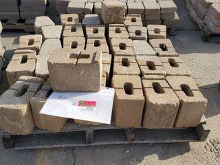 Brown Retaining Wall Blocks