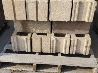 Grey Cinder Blocks