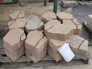 Pallet Of Brown Pavers