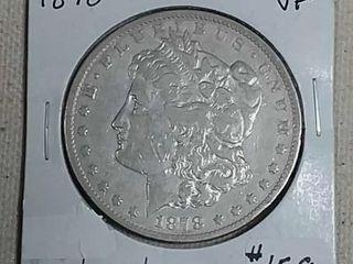 1878 CC Morgan Dollar VF