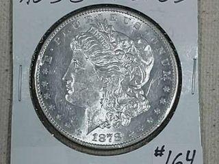 1878 S Morgan Dollar AU