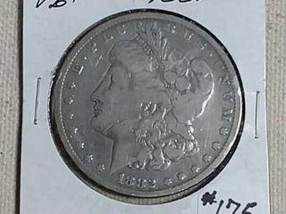 1882 CC Morgan Dollar VG scratched