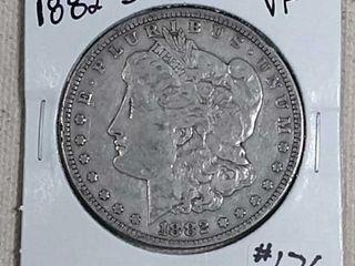 1882 S Morgan Dollar VF