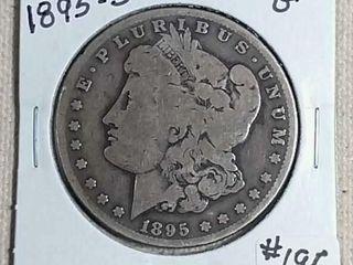 1895 S Morgan Dollar G