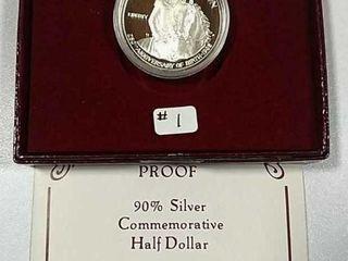 1982 S George Washington Comm  Haf Dollar