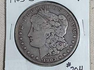 1903 S Morgan Dollar VF